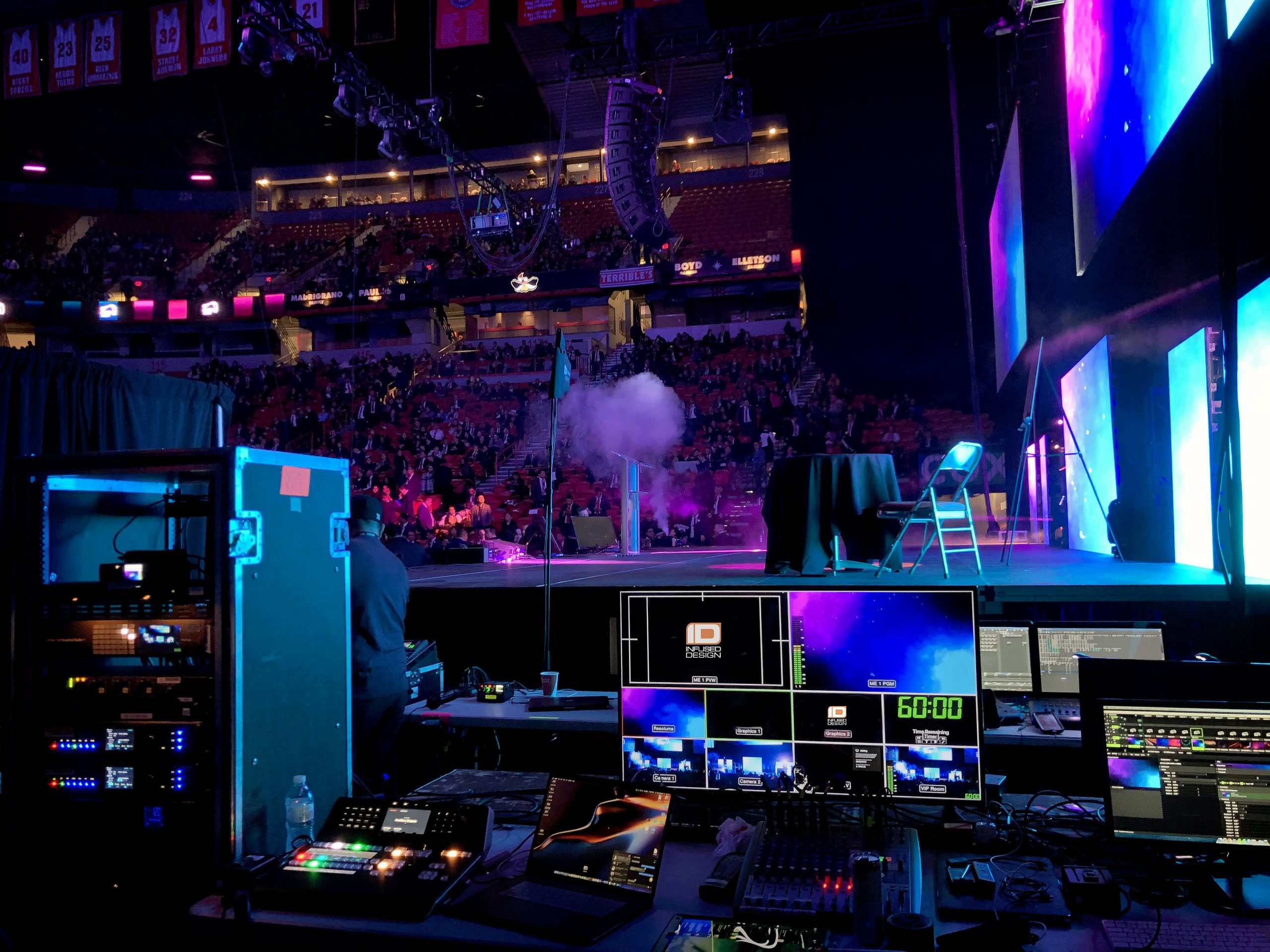 Audio, Video, Lighting, LED Walls, Staging, we got you covered.